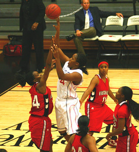 The Women's Basketball team hosted Winston-Salem State on Monday, November 16th.