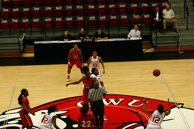 The Women's Basketball team hosted Winston-Salem State on Monday, November 16th. The game tipped off at 6:00 p.m.