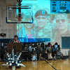 Tribune-Star/Joseph C. Garza<br /> Remembering Dale: Honey Creek Middle School seventh-grade teacher Nancy Paden remembers Tuesday her former student, the late U.S. Army Sgt. Dale Griffin, who died while serving in Iraq.