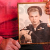 Tribune-Star/Joseph C. Garza<br /> The young sailor from Milwaukee: Howard Benthien figures he was 18 years old when this photo was taken of him during his time in the Navy.