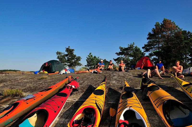 Softstund på lägerklippan