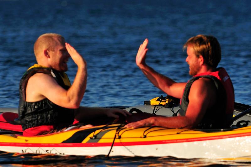 Christoffer & Martin firar lyckad räddning