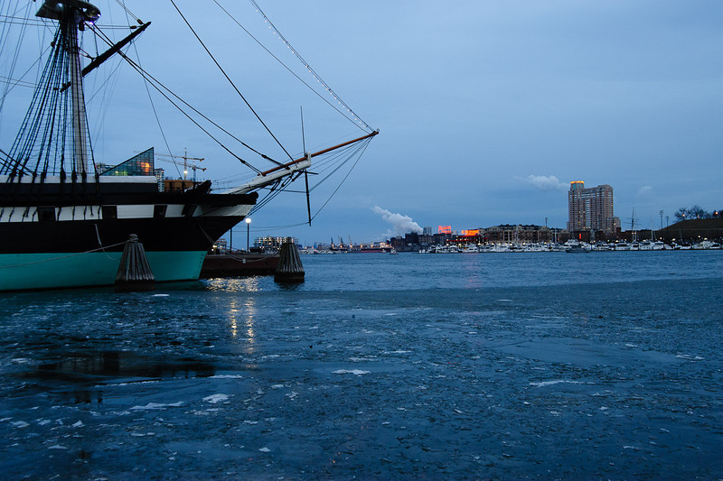 Ice on the Chesapeake