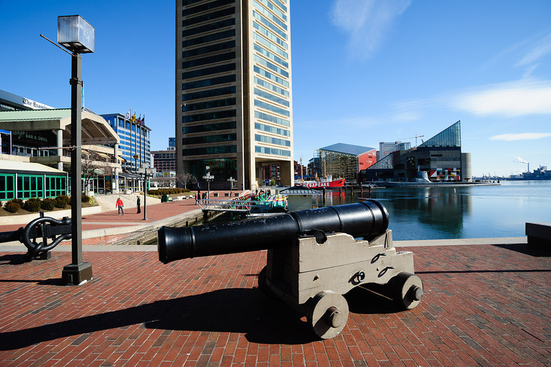 Guns on the waterfront