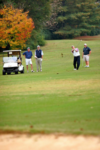 Alumni Relations hosts a Golf event for current and past Gardner-Webb students and affiliates; October 30, 2009.