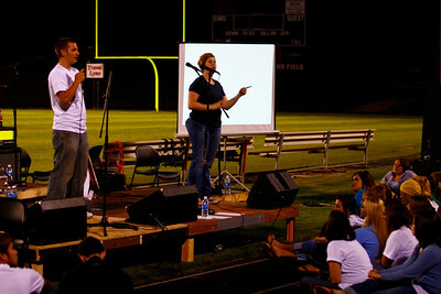 FCCA's Fields of Faith 2009 on the Gardner-Webb University Campus.
