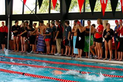 Gardner-Webb swimming vs. Catawba.