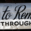 Sign detail: Walk to Remember sign detail.
