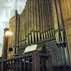 Historic: The organ at the Allen Chapel has been restored to playing condition by Keith Williams.