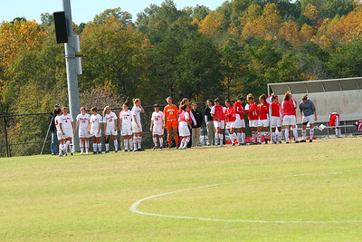 The Women's soccer team hosted The UNC-Asheville Bulldogs on Sunday, October 25th.