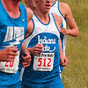 Tribune-Star/Joseph C. Garza<br /> Host competitor: Indiana State's Scott Keeney holds a place in the middle of the pack in the men's Blue Race during 2009 ISU Pre-National Invitational Saturday at the Lavern Gibson Championship Cross Country Course.