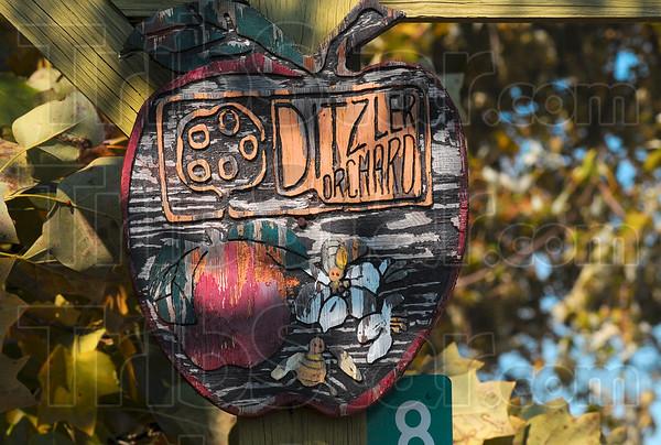 Ditzler Orchard sign.