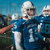 Longest in school history: Indiana State quarterback Ryan Roberts celebrates his 91-yard touchdown run with teammates, including Michael Mardis (88), Saturday during the Sycamores' win over Western Illinois at Memorial Stadium.
