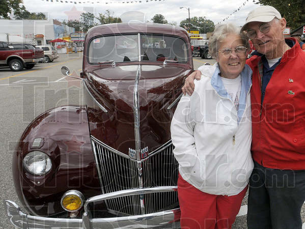 Record: Former Hill Climb speed record-holder Marvin Wood and his wife of 51 years are happy to be back for the 100th anniversary of the event. Woods' 1940 Ford held the speed record for two years at 23.20 seconds.