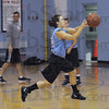 She's back: Indiana State University guard Kelsey Luna pushes the ball during a recent practice. She returns to the team after a season-ending knee injury in 2008.