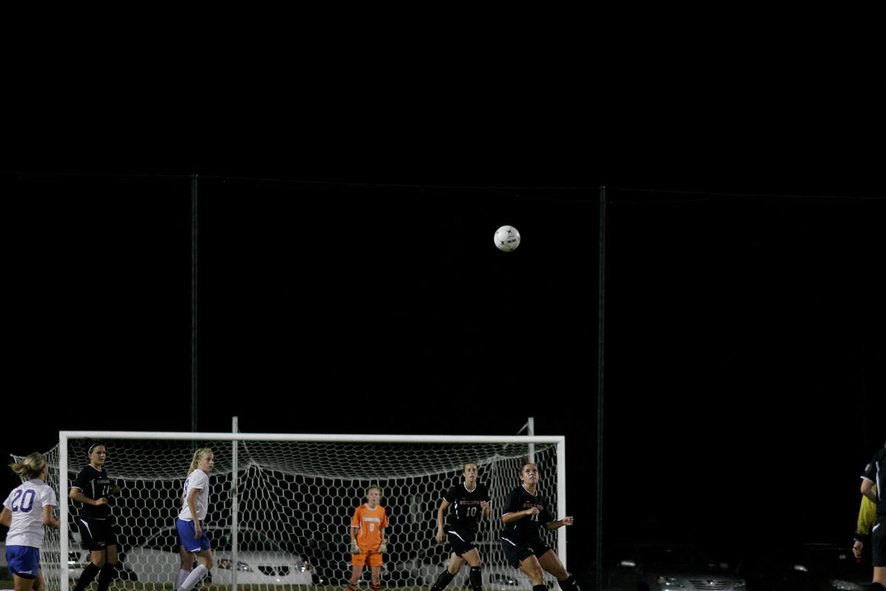 Gardner-Webb Woman's Soccer Team vs Presbyterian October 23, 2009. The Ladies were victorious 2-0