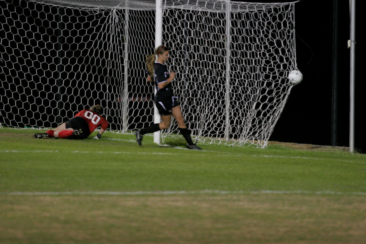 Gardner-Webb Woman's Soccer Team vs Presbyterian October 23, 2009. The Ladies were victorious 2-0