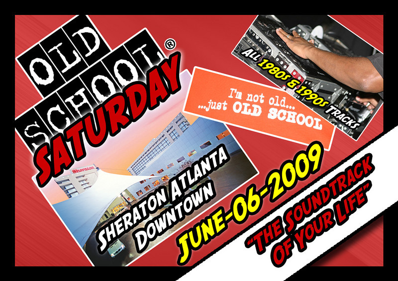 "June 6th event @ The Sheraton Downtown...come enjoy THE SOUNDTRACK OF YOUR LIFE :::  <a href=""http://www.oldschoolsaturday.com"">http://www.oldschoolsaturday.com</a> (info, tickets, and more)"