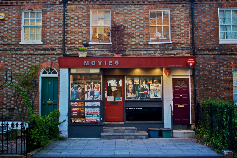 A video-rental store in Walton Street.