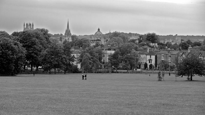 The city from Headington Hill.