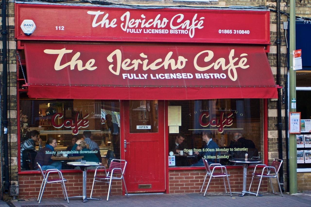 The Jericho Café, Walton Street.