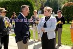 NYS Senator Frank Padavan,  P.S. 188 Principal Janet Caraisco