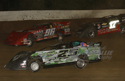 25 Jason Feger, 96 Terry English and 17m Dale McDowell