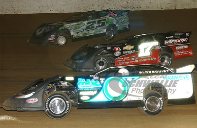 0 Scott Bloomquist, 17m Dale McDowell and 25 Jason Feger