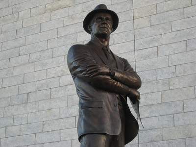Well Jerry did Tom Landry wrong, but at least he has a statue...  he must feel guilty