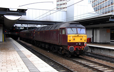 47804 on the rear of 5Z26 at Leeds (15/02/2009)