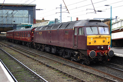 47804 on the rear of 1Z31 at Carlisle (21/02/2009)