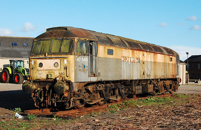 A last look at 47540, which was due to be removed imminently for scrap (03/05/2009)