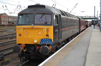 47798 'Prince William' awaits departure from Doncaster with Railtourer's 1Z46 0612 charter to Canterbury (23/05/2009)