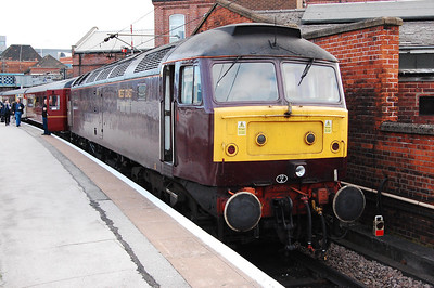 47804 at Doncaster after working the first leg of Railtourer's 1Z47 0626 Hull-Carlisle charter (02/05/2009)