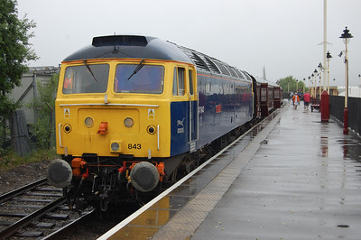 47843 is seen again on arrival at Heywood with the return 2J78 1428 from Rawtenstall (03/07/2009)