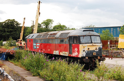 Another look at 47492 - evidence of recent restoration work is clearly visible (18/07/2009)