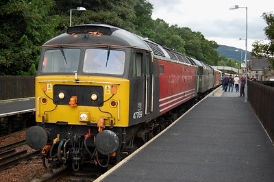 Events so far were enough to persuade DBS to add 66103 to the front of the train at Motherwell to ensure we got home. Ironically the naughty children had largely behaved themselves between Slochd and Braidhurst, and the addition of the 75 mph 'GM' to the