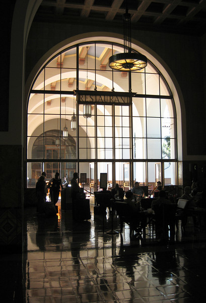 Restaurant alcove at Union Station