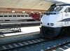 Amtrak trains at Union Station