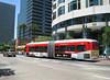 Articulated Metro bus