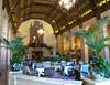 Cafe in the Millenium Biltmore hotel