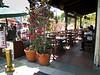 Restuarant patio near the Pueblo