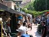 Olvera Street shops near the Pueblo