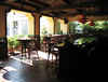 Inside the former Sante Fe Railway Station, now a restaurant