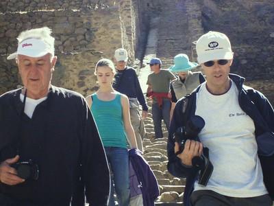 Descending Ollantaytambo - Imani Joseph