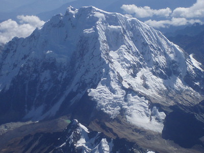 An Andean mountain by plane - Imani Joseph