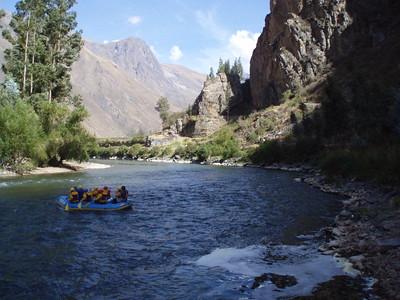 Rafting the Urubamba -  Imani Joseph