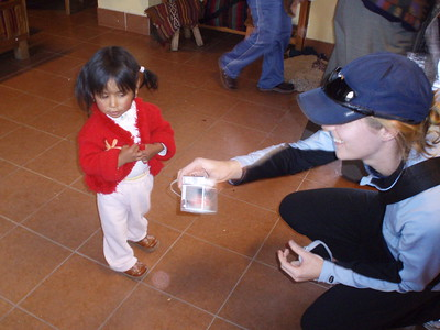Katie shows pictures - Imani Joseph