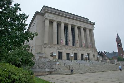 The Memorial Auditorium - quite the edifice!