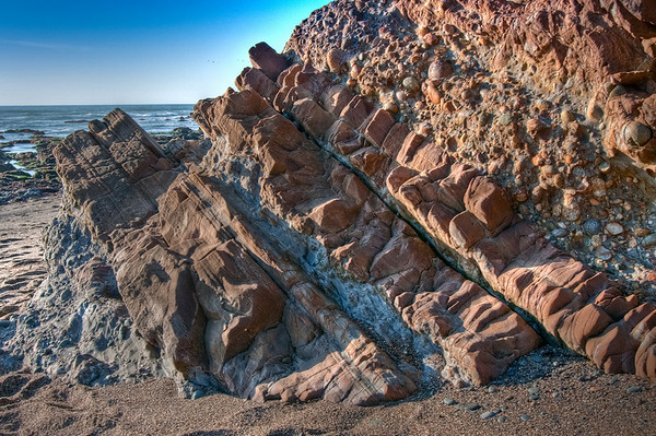 I thought these rocks made some neat pattersn that could draw the eye through the photo. Once again, the lighting made it difficult. I tried to keep this HDR more realistic looking.